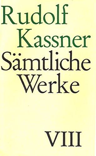 9783608932584: Sämtliche Werke: Das neunzehnte Jahrhundert - Ausdruck und größe (1947). Transfiguration (1946). Wandlung (1946)