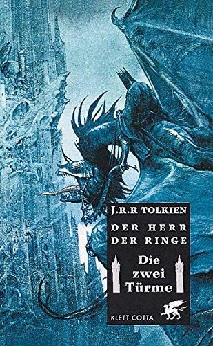 9783608934021: Der Herr der Ringe 2. Die zwei Türme. Großformat.