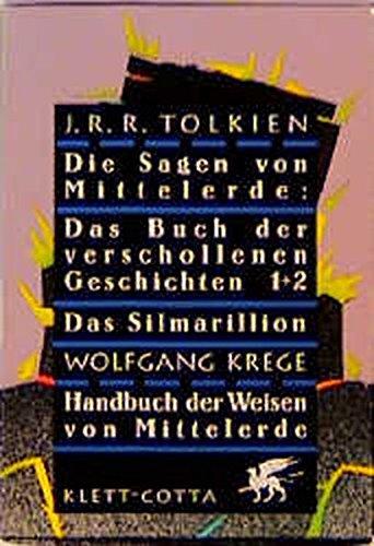 9783608935219: Die Sagen von Mittelerde (4 Bände im Schuber)