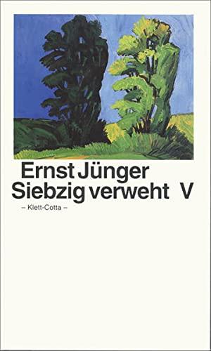 Siebzig verweht V: Junger, Ernst