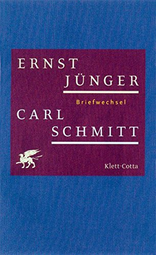 Briefwechsel: Ernst Jünger