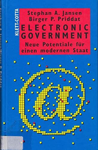 9783608940268: Electronic Government. Neue Potentiale für einen modernen Staat.