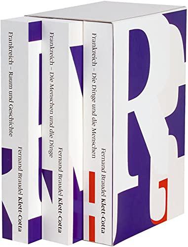 Frankreich. 3 Bände: Fernand Braudel