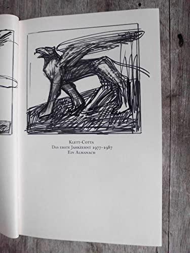 9783608955026: Klett-Cotta: Das erste Jahrzent 1977-1987, ein Almanach