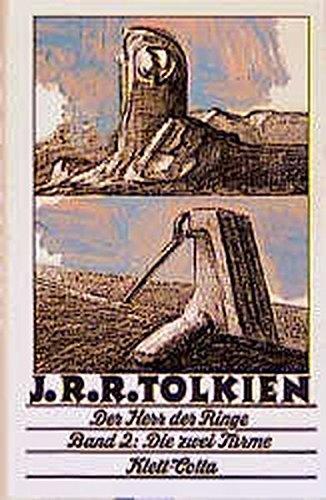 9783608955378: Der Herr der Ringe, 3 Bde., Tl.2, Die zwei Türme (übersetzt von Margaret Carroux)