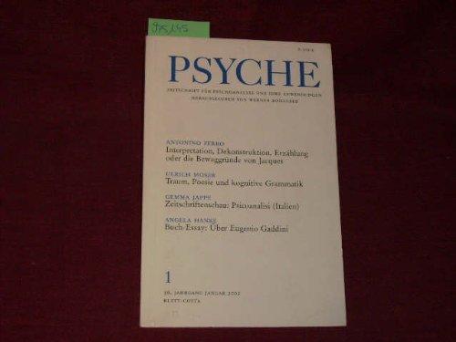 9783608972412: PSYCHE Sonderheft 2002: Entwicklungsforschung, Bindungstheorie, Lebenszyklus