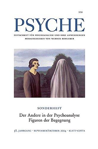 9783608972634: Psyche 9/10 2004. Sonderheft 'der Andere in der Psychoanalyse'.