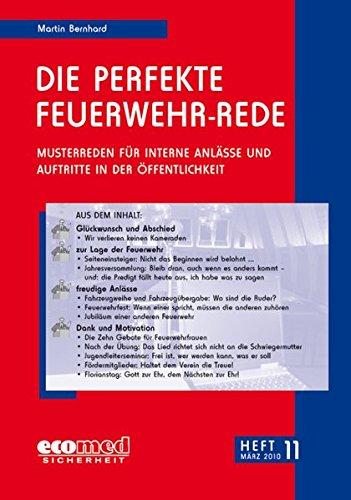 9783609623269: Die perfekte Feuerwehr-Rede Heft 11