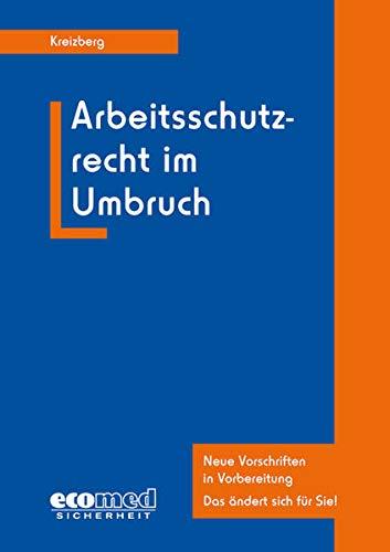 9783609687827: Arbeitsschutzrecht im Umbruch: Geltende und sich abzeichnende Änderungen - Ein Überblick