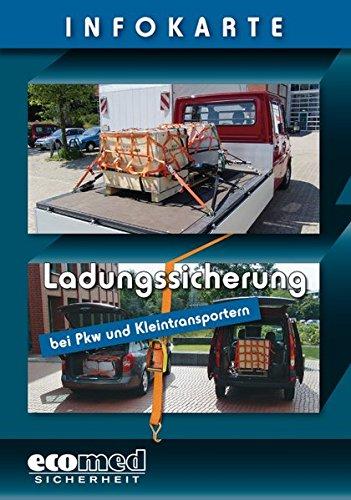 9783609693415: Infokarte Ladungssicherung bei Pkw und Kleintransportern: Verpackungseinheit 10 St�ck