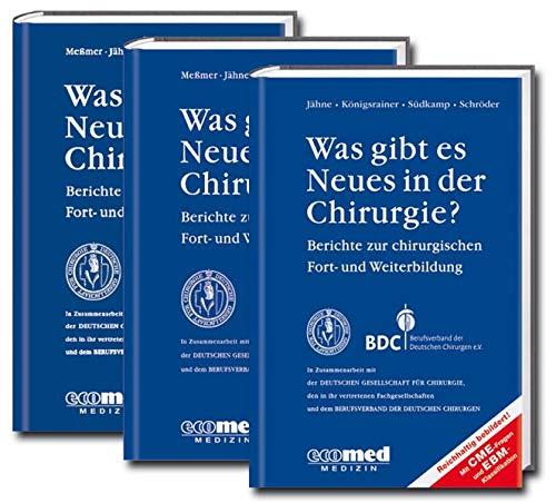 9783609769929: Was gibt es Neues in der Chirurgie? Jahresbände 2011, 2012, 2013