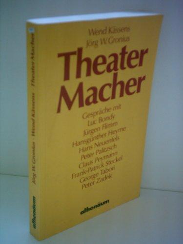 9783610084554: Theatermacher