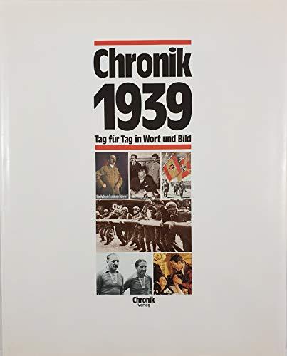 9783611000416: Chronik 1939