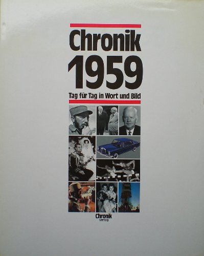 9783611000812: Chronik 1959