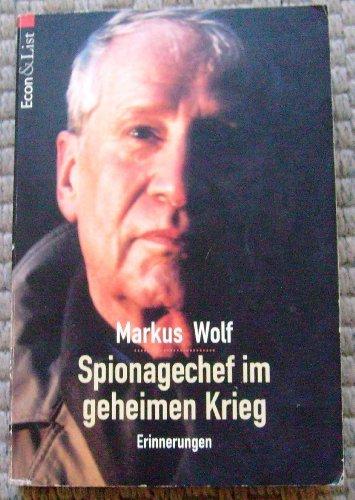 9783612264824: Markus Wolf: Spionagechef im geheimen Krieg . 9783612264824 ...