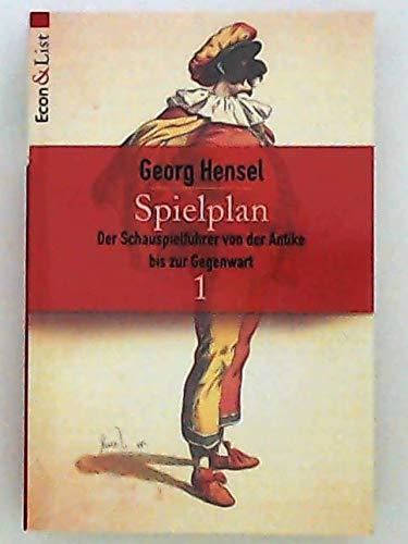 9783612266453: Spielplan. Schauspielführer von der Antike bis zur Gegenwart. (in 2 Bd.)