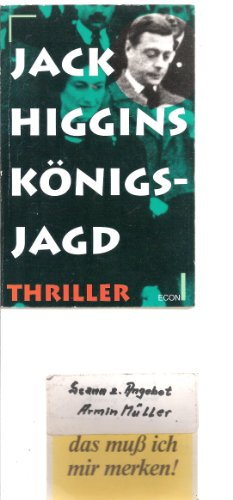 9783612270009: Königsjagd