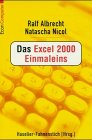 9783612281906: Das Excel 2000 Einmaleins