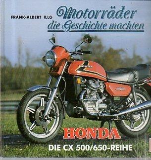 9783613014145: Motorr�der die Geschichte machten - Honda CX 500/650