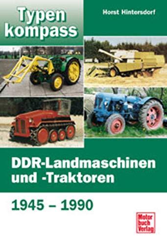 9783613022515: DDR-Landmaschinen und -Traktoren.