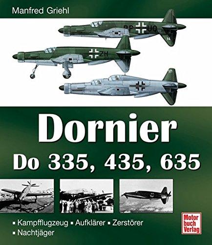 9783613023802: Dornier Do 335, 435, 635