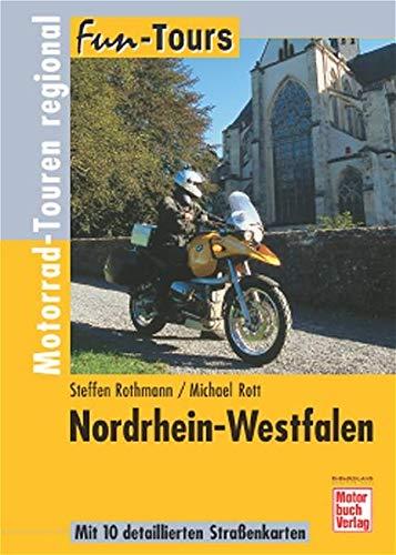 9783613024830: Fun-Tours. Nordrhein-Westfalen: Motorrad-Touren regional
