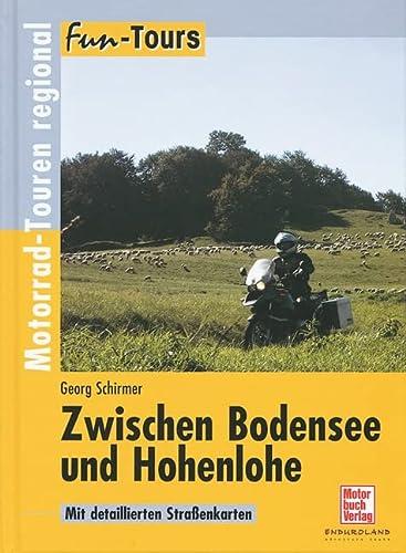 9783613025073: Fun-Tours Zwischen Bodensee und Hohenlohe: Motorrad-Touren regional