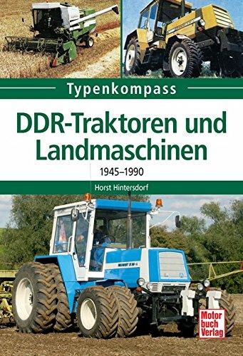 9783613027824: DDR-Traktoren und Landmaschinen: 1945-1990