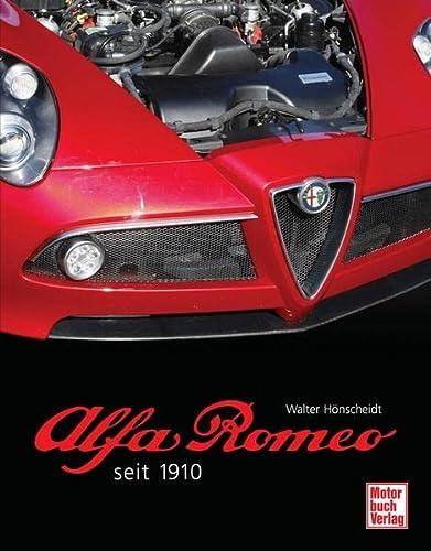 9783613029132: Alfa Romeo seit 1910