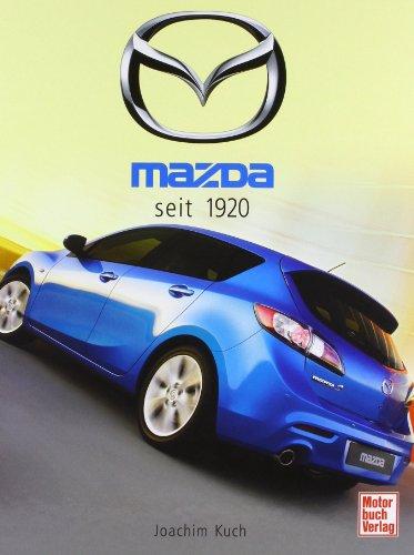 9783613030282: Mazda seit 1920