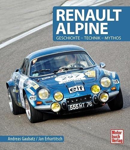 9783613037977: Renault Alpine