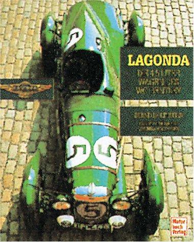 9783613302969: Lagonda. Die 4.5 Liter Wagen des W. O. Bentley.
