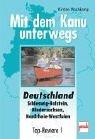 9783613504233: Mit dem Kanu unterwegs. Schleswig-Holstein, Niedersachsen, Nordrhein-Westfalen. Top- Reviere.