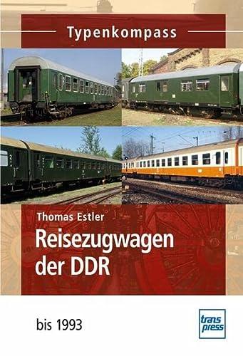 9783613714373: Reisezugwagen der DDR bis 1993