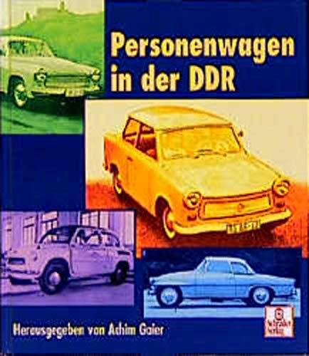 9783613872028: Personenwagen in der DDR.