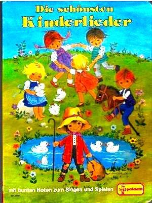 Kinderlieder zum Singen und Spielen mit bunten: G.Gottschlich