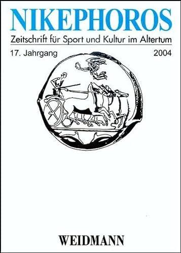 Nikephoros - Zeitschrift für Sport und Kultur im Altertum: Wolfgang Decker
