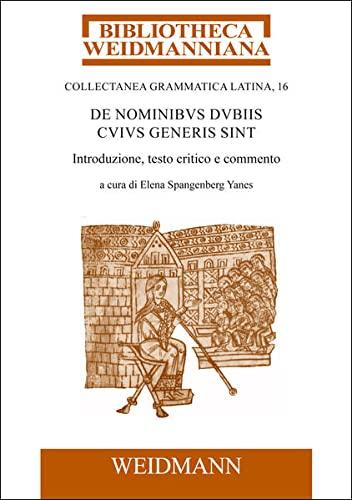 9783615004427: De nominibus dubiis cuius generis sint