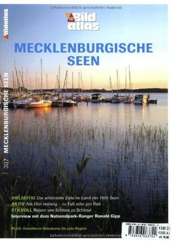 9783616063744: Bildatlas Mecklenburgische Seen