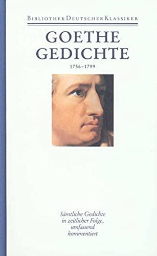 Gedichte 1756 - 1799: Karl Eibl