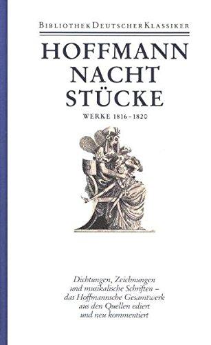 9783618608707: Nachtstücke. Klein Zaches. Prinzessin Brambilla. Werke 1816-1820: Bd. 3
