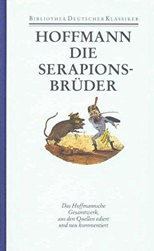 9783618608806: Sämtliche Werke 6 Bde. Ln Bd.4 Die Serapions-Brüder
