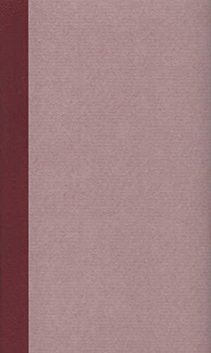 9783618609056: Sämtliche Werke in sechs Bänden: Band 6: Späte Prosa. Briefe. Tagebücher und Aufzeichnungen. Juristische Schriften. Werke 1814-1822