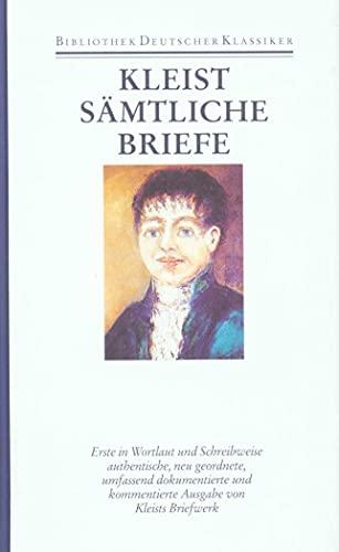 9783618609902: Briefe von und an Heinrich von Kleist 1793 - 1811