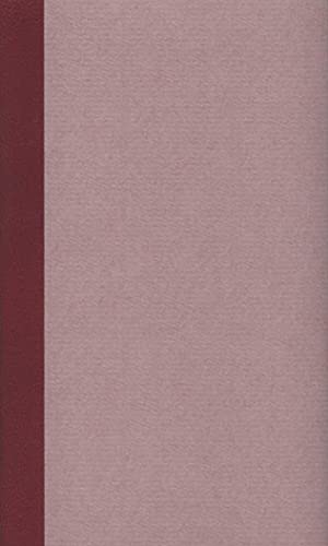 Werke und Briefe in drei Bänden: Johann Gottfried Seume
