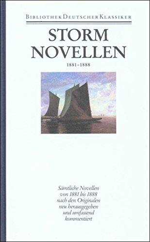 9783618613701: Novellen 1881 - 1888: Band 3: Novellen 1881-1888: Bd. 3