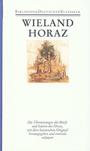 Übersetzungen I. Übersetzung des Horaz: Manfred Fuhrmann