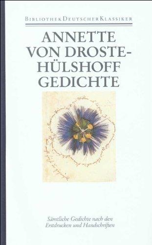Gedichte: Annette von Droste-Hülshoff
