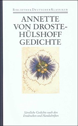 Sämtliche Werke: Annette von Droste-Hülshoff