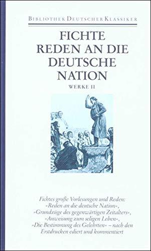 Werke 2. Schriften zur Angewandten Philosophie: Johann Gottlieb Fichte